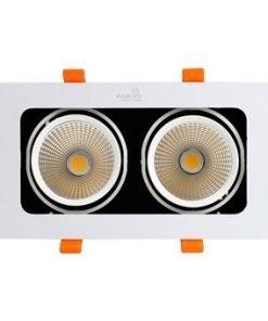 Đèn GRILL LIGHT âm trần GL-2*10-V227 Kingled
