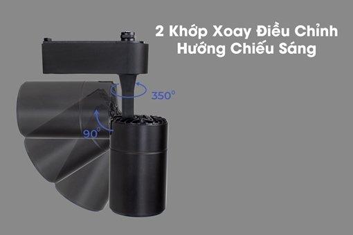 Đèn Led rọi ray 7W Saphire DTL-7-D KingLed