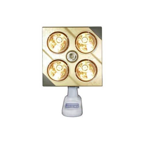 Đèn sưởi nhà tắm Kottmann 4 bóng K4BG treo tường