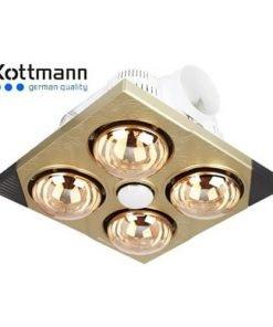 Đèn sưởi nhà tắm Kottmann 4 bóng K4BT