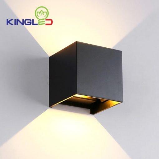 Đèn LED gắn tường LWA5011- BK Kingled