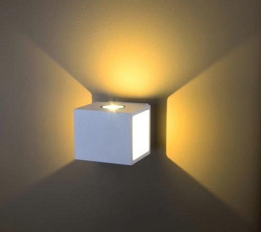 Đèn Led gắn tường ngoài trời LWA0100A-WH KingLed