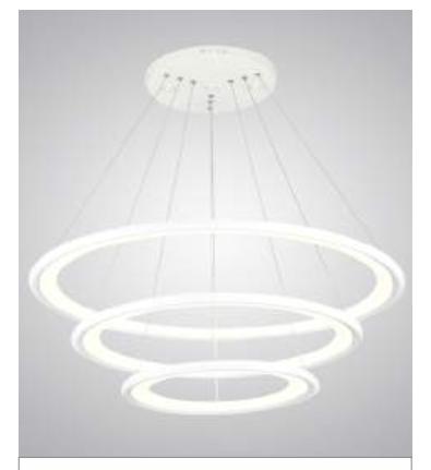 Đèn thả trang trí LED BP2703-B KingLed