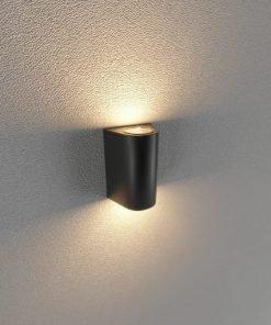 Đèn Led gắn tường ngoài trời LWA0148B-BK KingLed