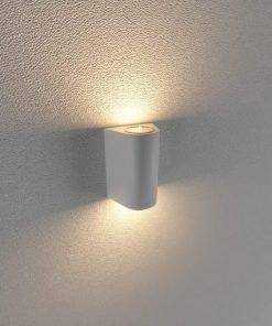Đèn Led gắn tường ngoài trời LWA0148B-WH KingLed