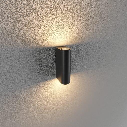 Đèn Led gắn tường ngoài trời LWA0149B-BK KingLed