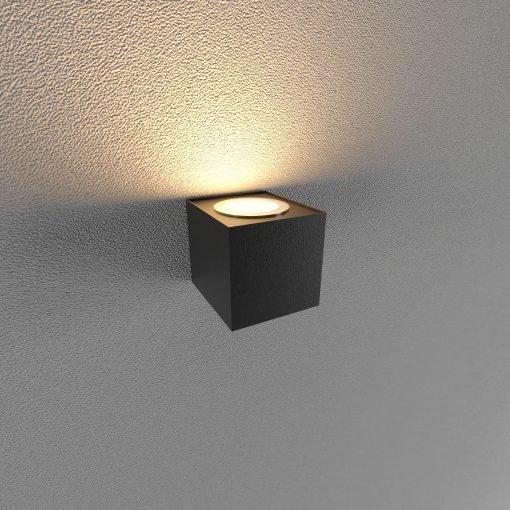 Đèn Led gắn tường ngoài trời LWA0150A-BK KingLed