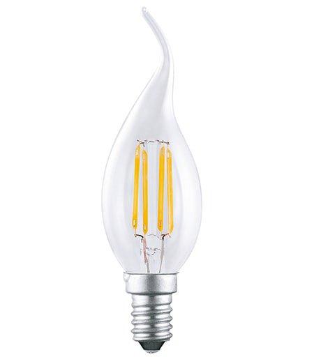 Bóng đèn led dây tóc Edison 4W F35 E14 Opple
