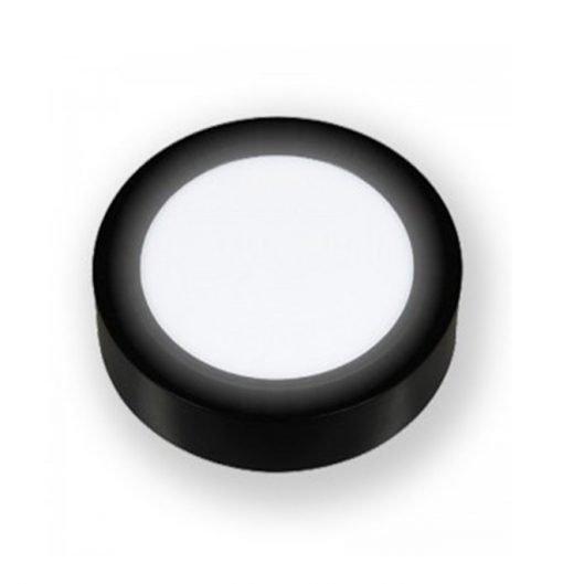Đèn Led ốp nổi tròn vỏ đen PNOT Asia