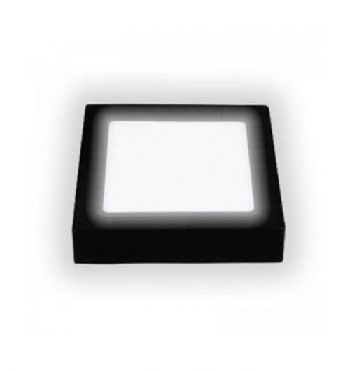 Đèn led ốp nổi vuông vỏ đen PNOV Asia