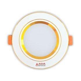 Đèn led âm trần đổi màu mặt vàng MV5 Asia