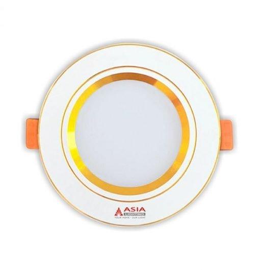 Đèn LED âm trần mặt vàng MV Asia