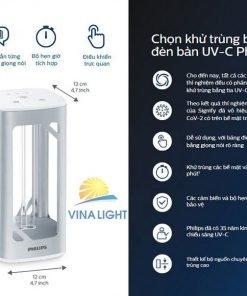 Đèn bàn UVC diệt khuẩn Philips