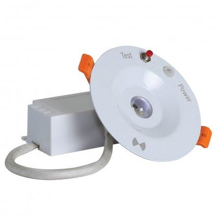 Đèn LED âm trần khẩn cấp AT07.KC 90/5W Rạng ĐôngĐèn LED âm trần khẩn cấp AT07.KC 90/5W Rạng Đông