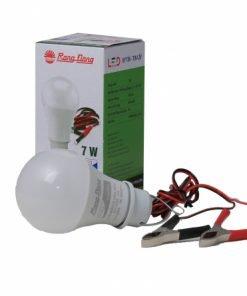 Bóng LED Bulb A60/7W 12-24VDC kẹp 6500K SS Rạng Đông