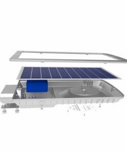 Đèn đường LED Chiếu sáng NLMT CSD02SL 15W 6500K Rạng Đông