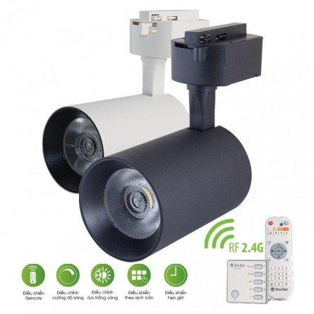 Đèn LED Tracklight 25W - Điều khiển bằng Remote D TRL04L/25W.RF Rạng Đông