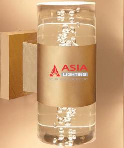 Đèn tường hai đầu giọt nước màu đồng 12w DTU-GN Asia