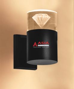 Đèn tường một đầu kim cương 6w DTU-KC Asia