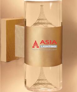 Đèn tường hai đầu tháp Elffel màu đồng 12w DTU-TH Asia