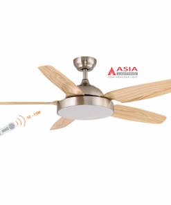 Quạt trần đèn cao cấp 38w QT04 - G - Gỗ phong cách Asia