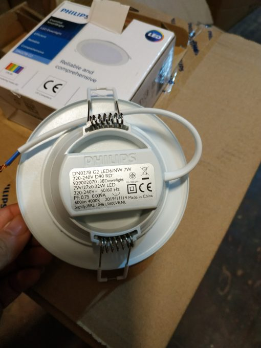 đèn led âm trần dn027b g2 philips