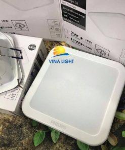 Đèn Led âm trần vuông 7W DN027B L100 PHILIPS