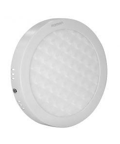 Đèn Led ốp trần tròn nổi siêu mỏng mặt 3D ELT8004S Roman