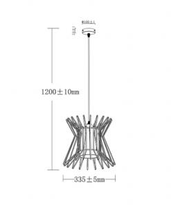 Kích thước của Đèn thả Led trang trí 11W HH-LB1051288 Panasonic