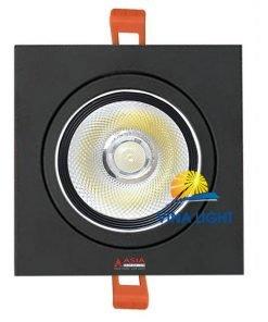 Đèn led âm trần mặt vuông 10W AVD10 Asia