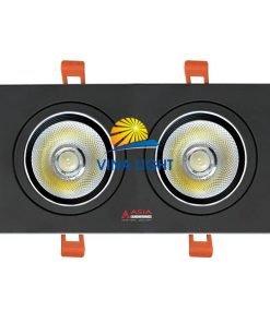 Đèn led âm trần mặt vuông 20W AVD20 Asia