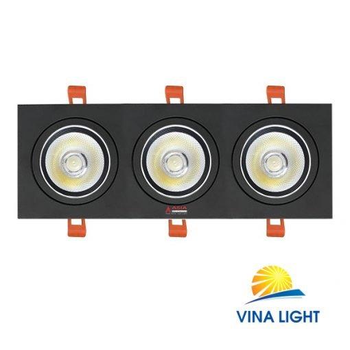 Đèn led âm trần mặt vuông 30W AVD30 Asia