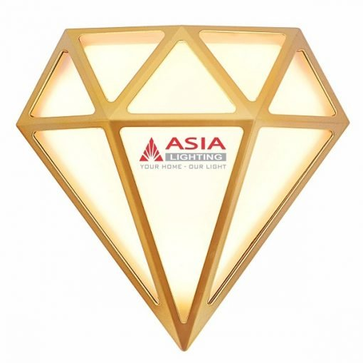 Đèn tường kim cương 18W DTK18-01 Asia