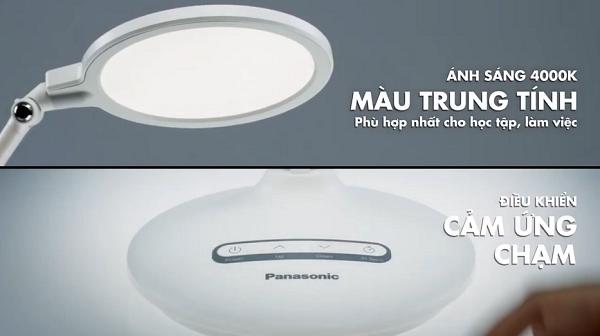 Ánh sáng đồng nhất của đèn bàn học Panasonic