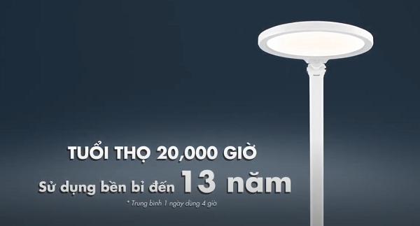 Tuổi thọ của đèn bàn học HH-LT0523 Panasonic
