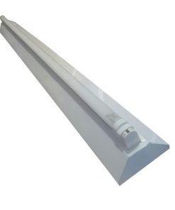 Máng đèn Led V-Shape sơn tĩnh điện 1x18W 1200mm VLVS118S