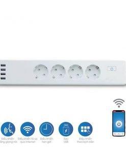 Ổ cắm Wifi 4 - USB P E04.3/10A.WF Rạng Đông