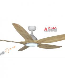 Quạt trần đèn cao cấp 38w QT03 - G - Gỗ phong cách Asia