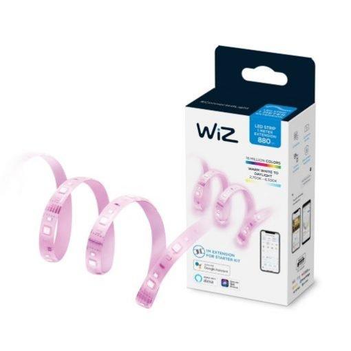 Đèn Led dây Wiz Strip 1m Extension 11W không kèm bộ nguồn Philips