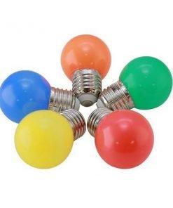 Bóng đèn LED búp trang trí 1W A45R/Y/G/B/W Rạng Đông