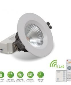 Đèn LED âm trần đổi màu AT14.RF 76/7W Rạng Đông