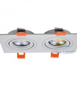 Chóa đèn chiếu điểm lỗ khoét 75x160 EVL802E-M ELV