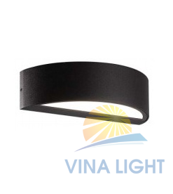 Đèn gắn tường 9W IP65 VWL-O4215 ELV