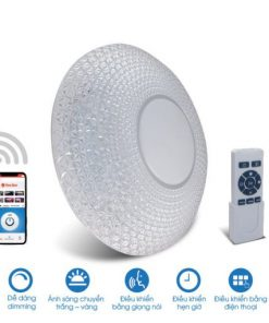 Đèn LED ốp trần đổi màu LN18.WF.IR 500/48W Rạng Đông