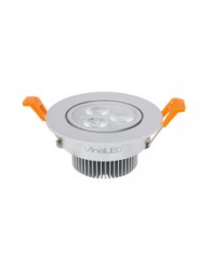 Đèn Led âm trần 4W lỗ khoét 72 mẫu D DL-DS4 /DL-DW4 Vinaled