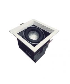 Đèn Led âm trần 1x10W lỗ khoét 120x120 mẫu H DL-HW1x10 Vinaled