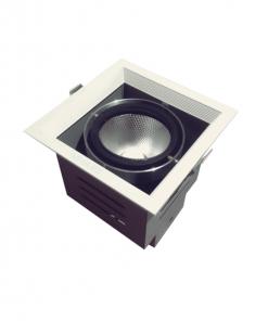 Đèn Led âm trần 1x15W lỗ khoét 120x120 mẫu H DL-HW1x15 Vinaled