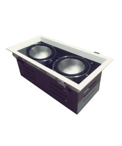 Đèn Led âm trần 2x15W lỗ khoét 240x120 mẫu H DL-HW2x15 Vinaled