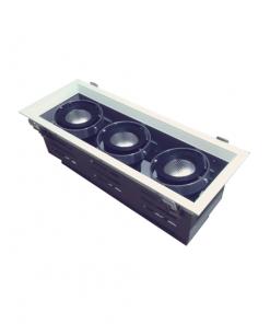 Đèn Led âm trần 3x10W lỗ khoét 350x120 mẫu H DL-HW3x10 Vinaled