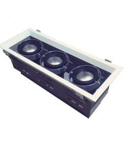 Đèn Led âm trần 3x15W lỗ khoét 350x120 mẫu H DL-HW3x15 Vinaled